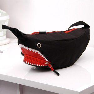 Shark Crossbody / Belt Fanny Pack